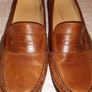 Cole Haan hand-sewn leather penny loafers